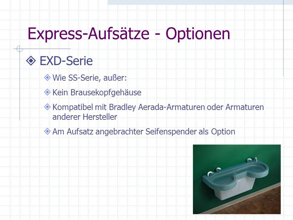 Express-Aufsätze - Optionen
