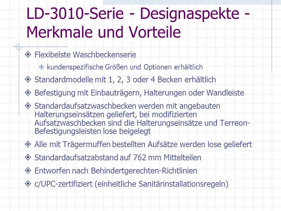 LD-3010-Serie - Designaspekte - Merkmale und Vorteile