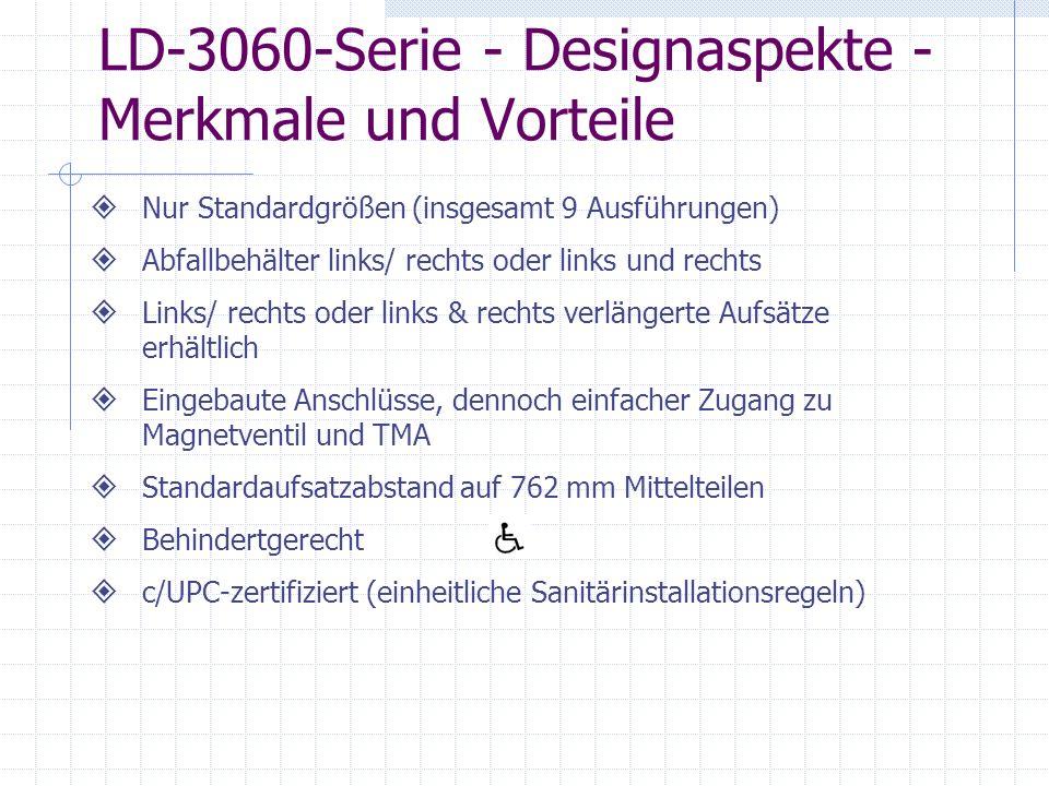LD-3060-Serie - Designaspekte - Merkmale und Vorteile