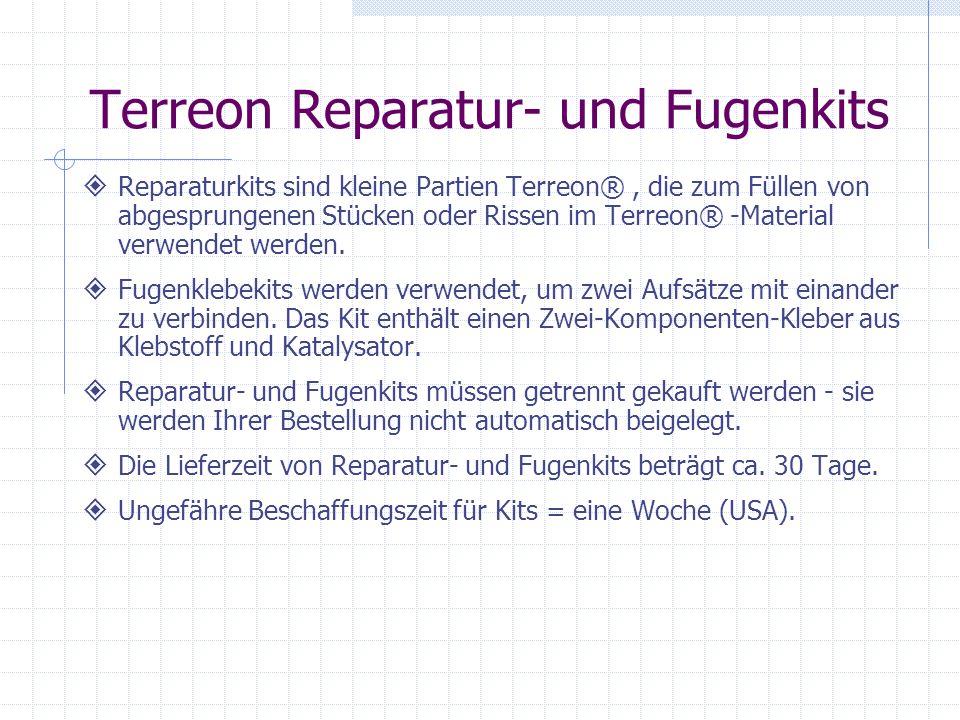 Terreon Reparatur- und Fugenkits