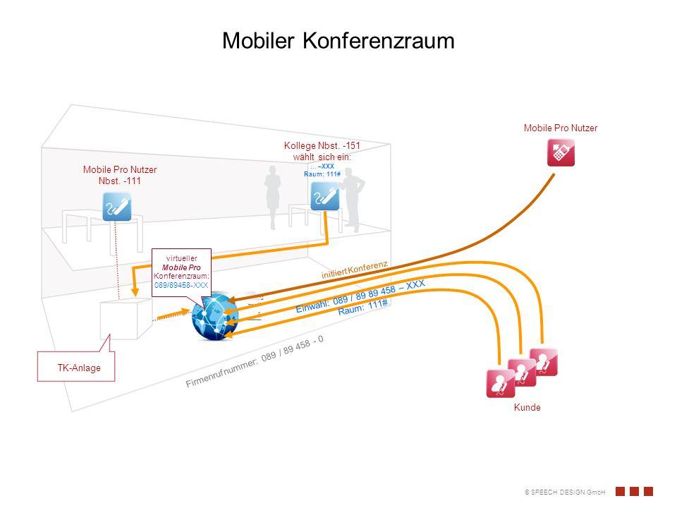 Mobiler Konferenzraum