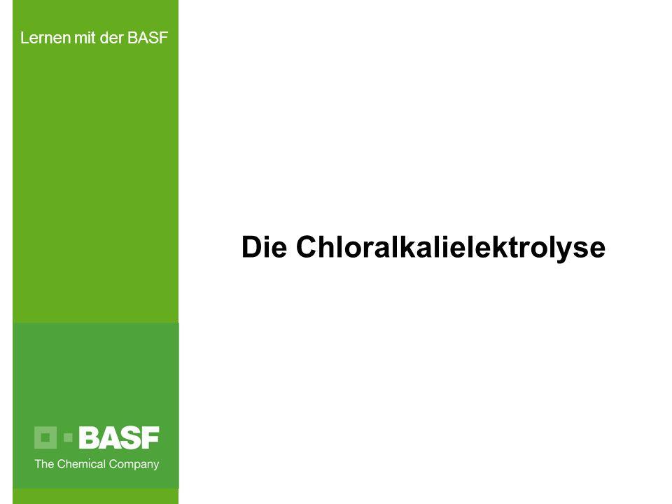 Die Chloralkalielektrolyse