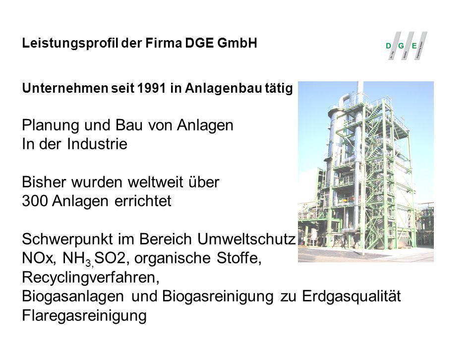 Planung und Bau von Anlagen In der Industrie