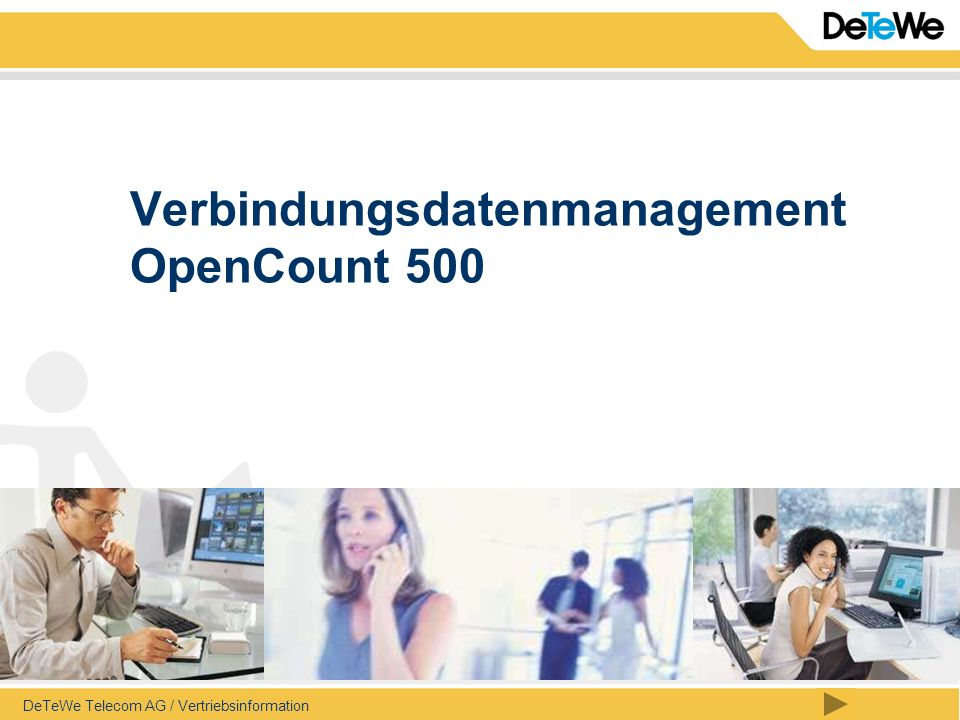 Verbindungsdatenmanagement OpenCount 500