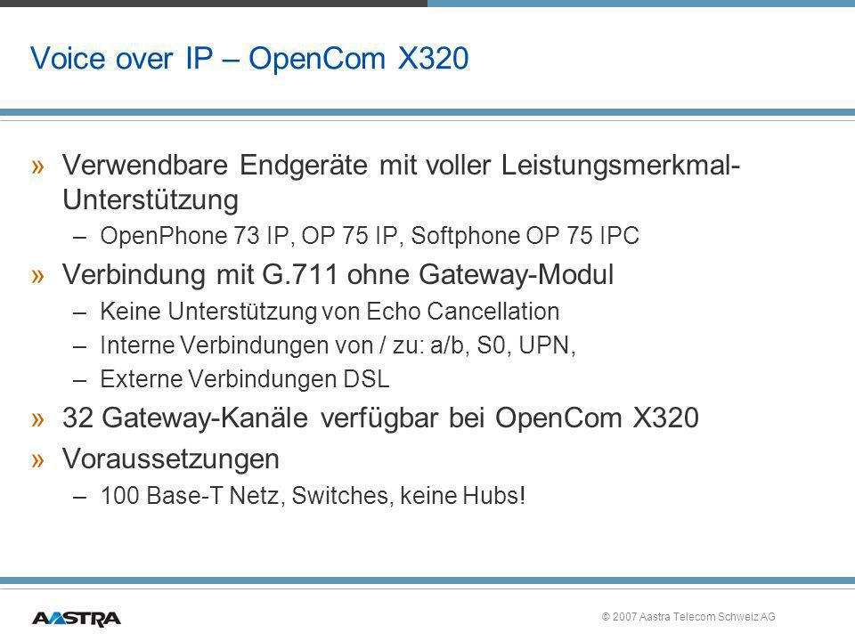 Voice over IP – OpenCom X320