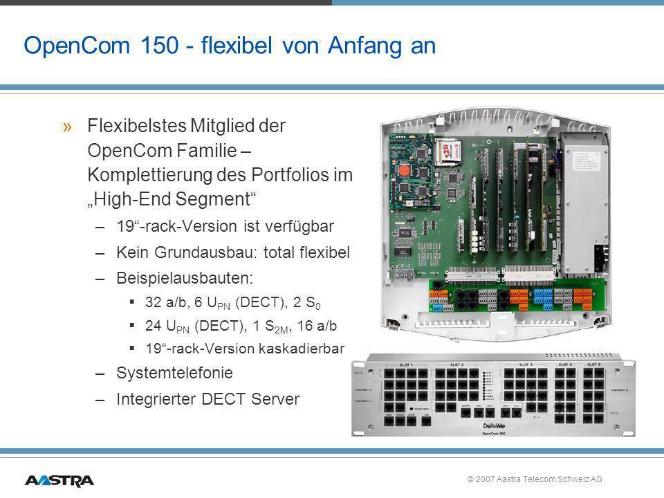 OpenCom 150 - flexibel von Anfang an