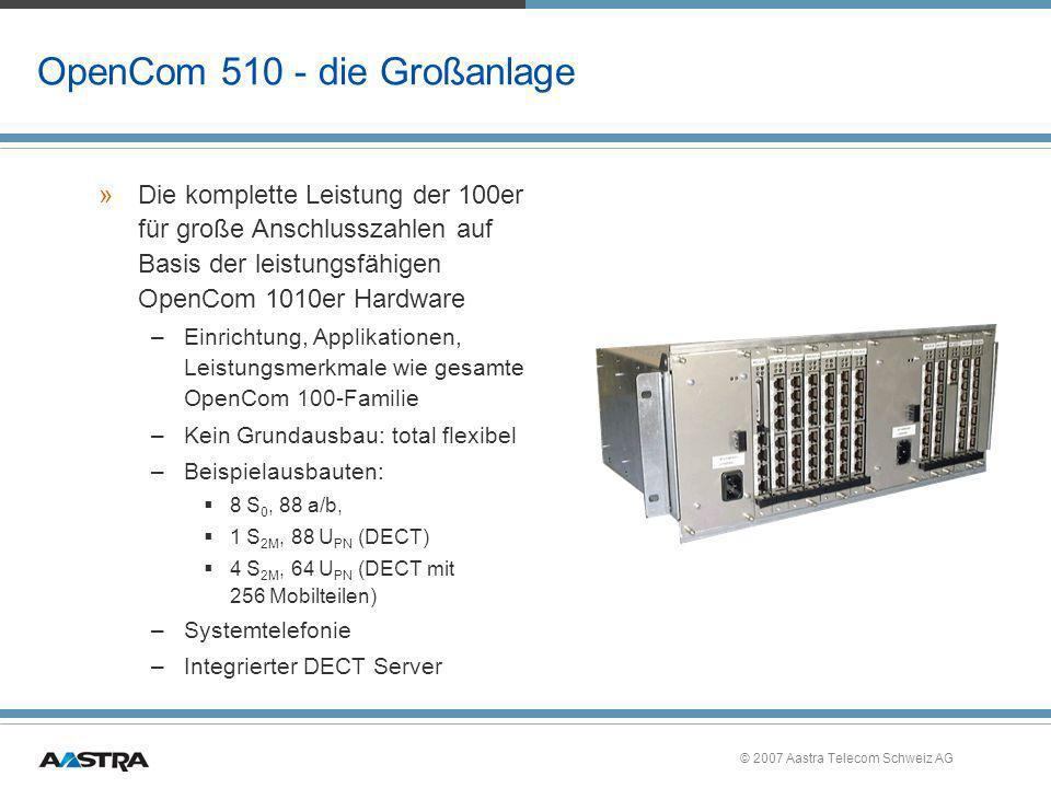 OpenCom 510 - die Großanlage