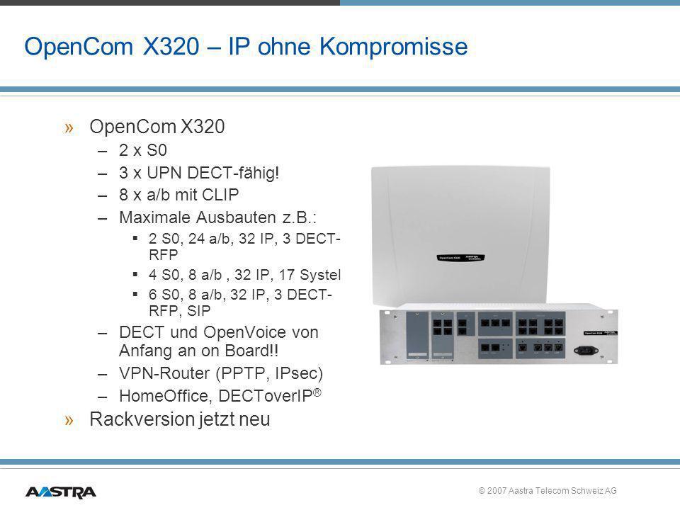 OpenCom X320 – IP ohne Kompromisse