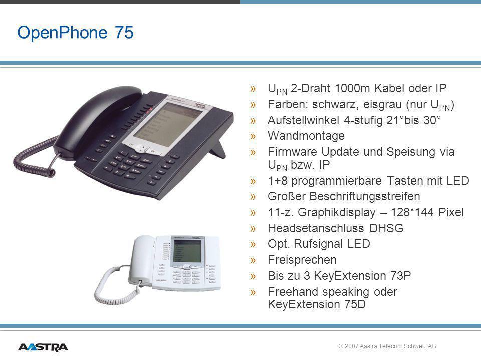 OpenPhone 75 UPN 2-Draht 1000m Kabel oder IP