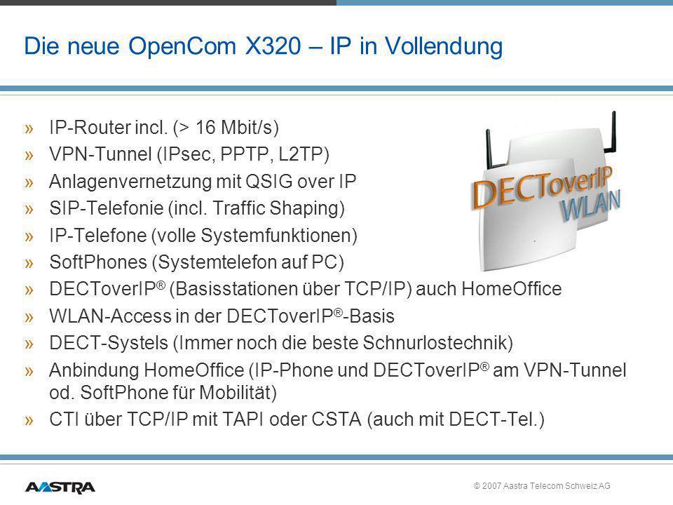 Die neue OpenCom X320 – IP in Vollendung