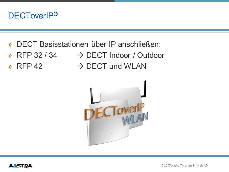 DECToverIP® DECT Basisstationen über IP anschließen: