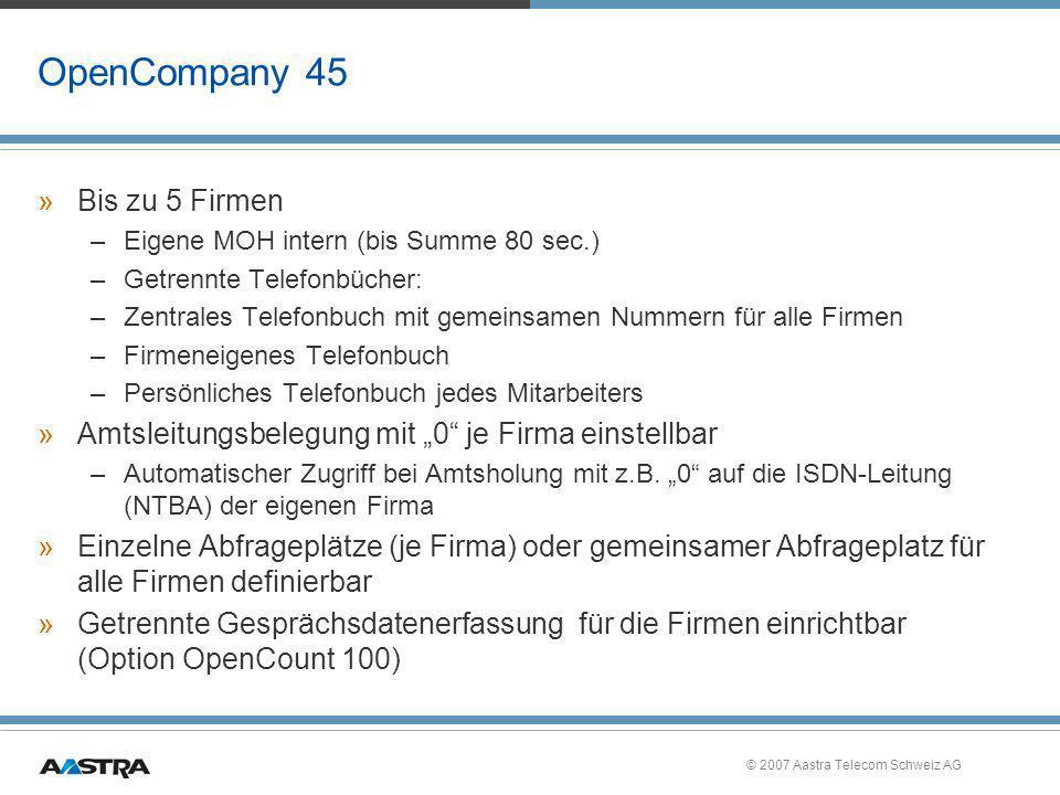 OpenCompany 45 Bis zu 5 Firmen