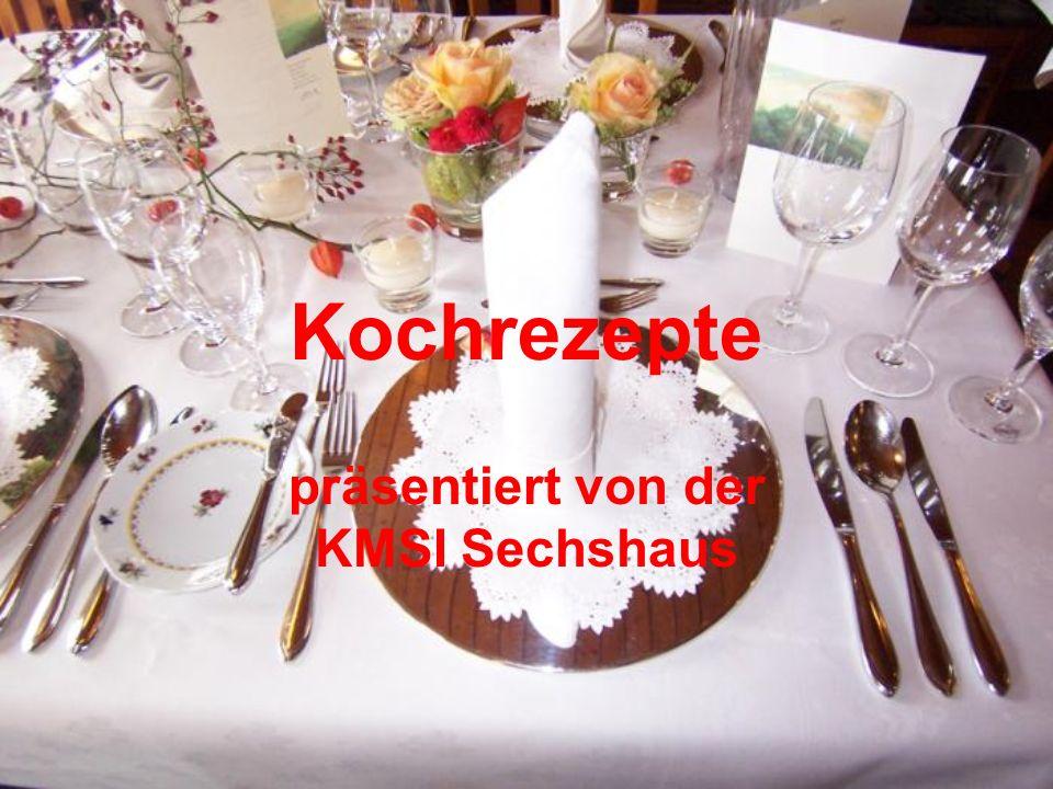 präsentiert von der KMSI Sechshaus
