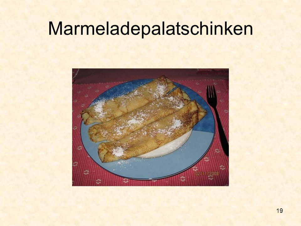 Marmeladepalatschinken