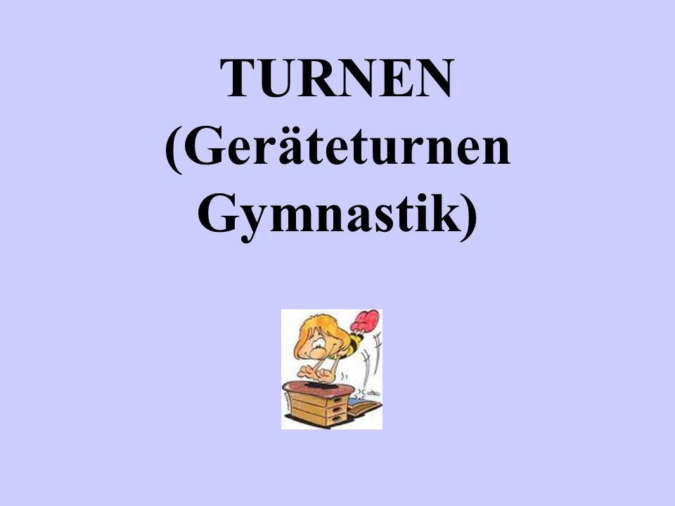 TURNEN (Geräteturnen Gymnastik)