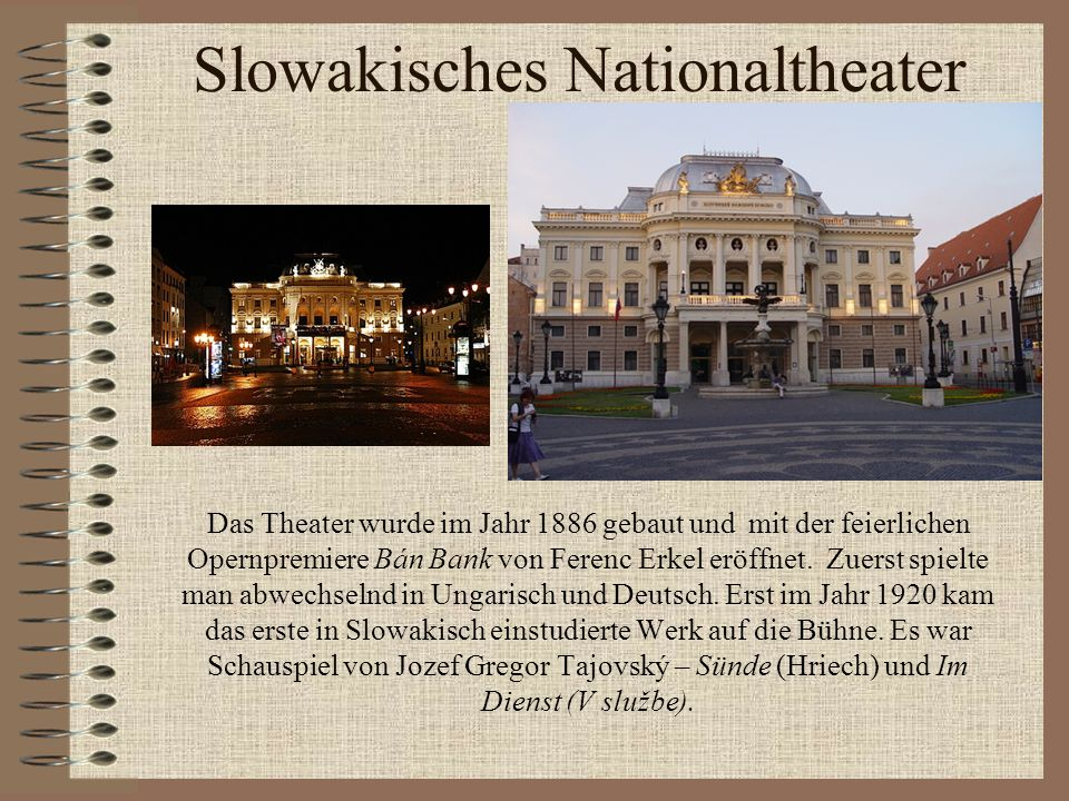 Slowakisches Nationaltheater