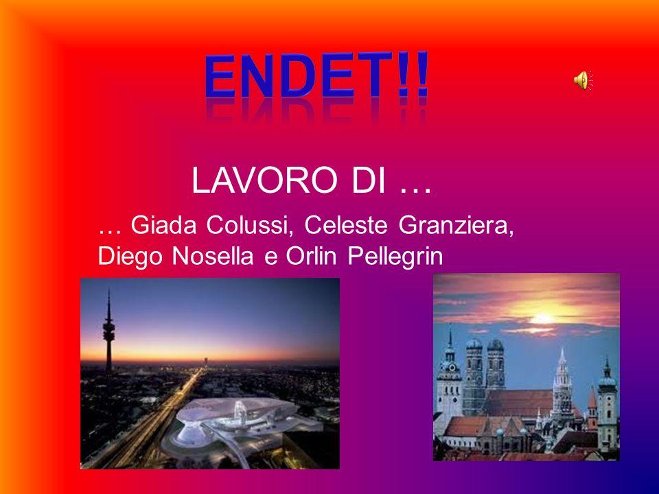 ENDET!! LAVORO DI … … Giada Colussi, Celeste Granziera, Diego Nosella e Orlin Pellegrin