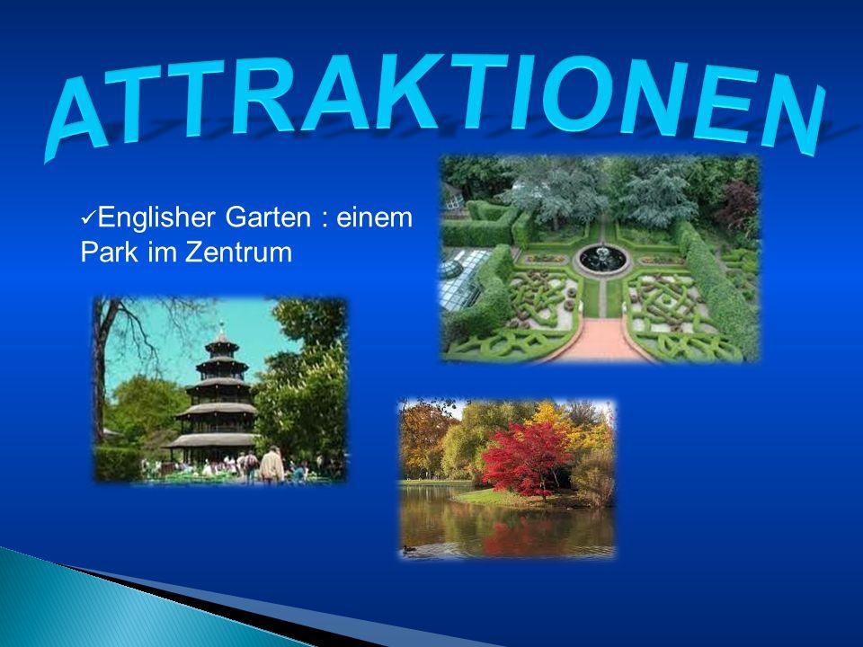 ATTRAKTIONEN Englisher Garten : einem Park im Zentrum