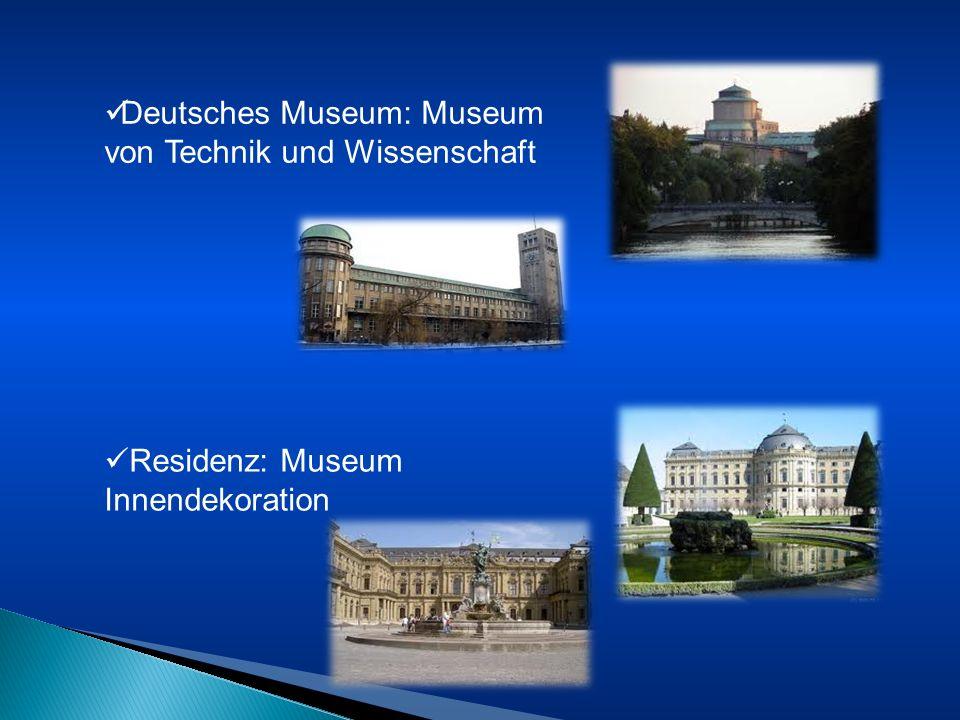 Deutsches Museum: Museum von Technik und Wissenschaft