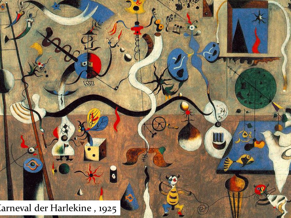 Karneval der Harlekine , 1925