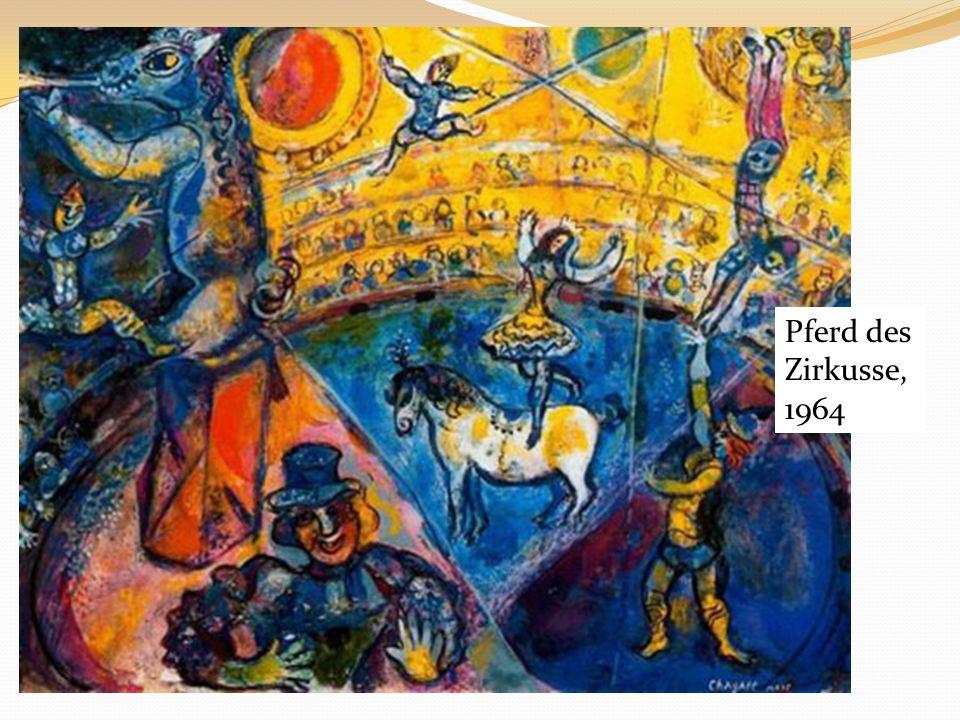 Pferd des Zirkusse, 1964