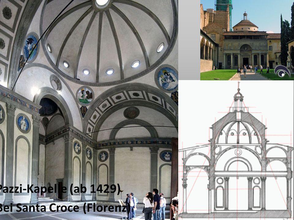 Pazzi-Kapelle (ab 1429) Bei Santa Croce (Florenz)