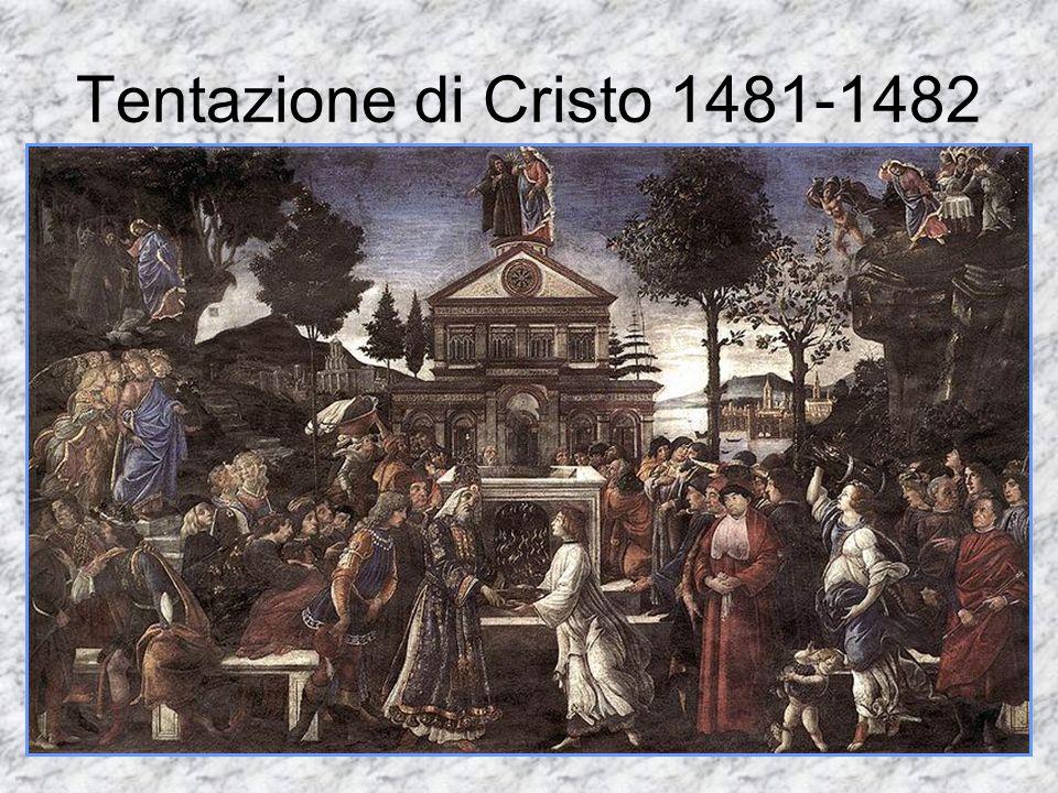 Tentazione di Cristo 1481-1482
