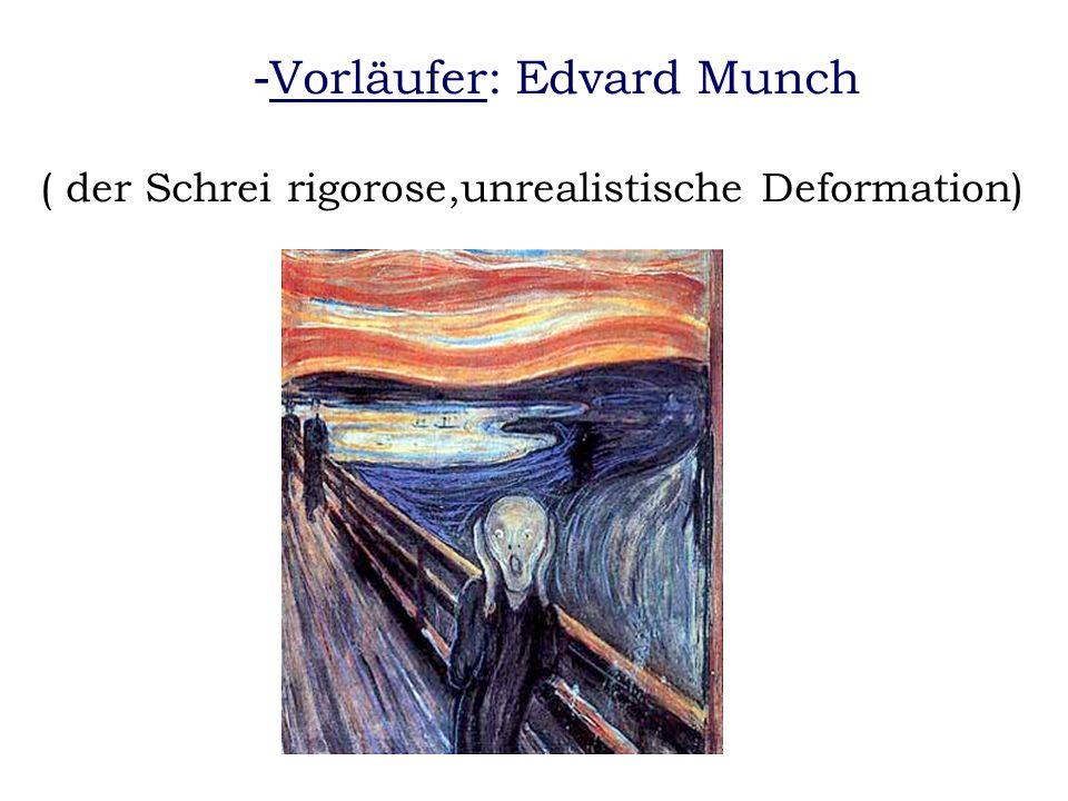 Vorläufer: Edvard Munch