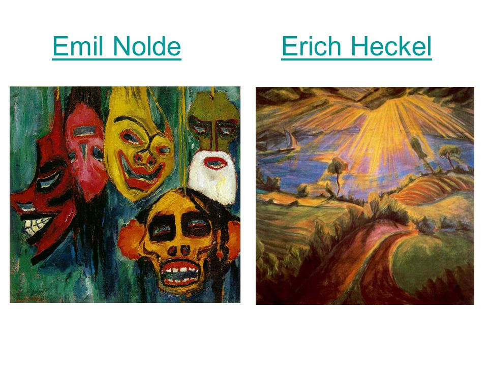 Emil Nolde Erich Heckel