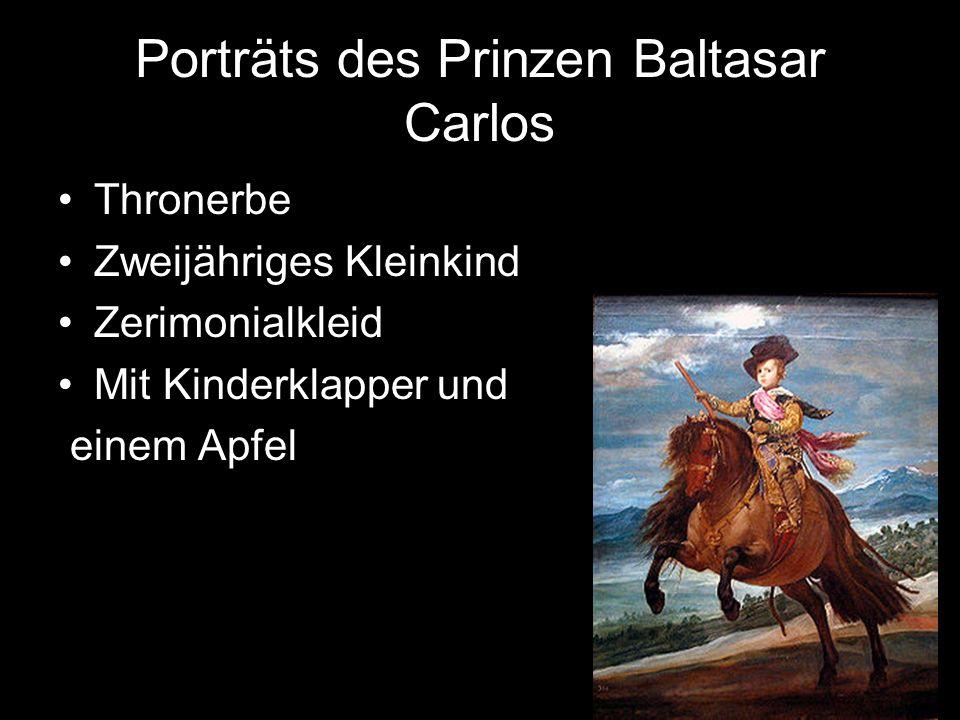 Porträts des Prinzen Baltasar Carlos