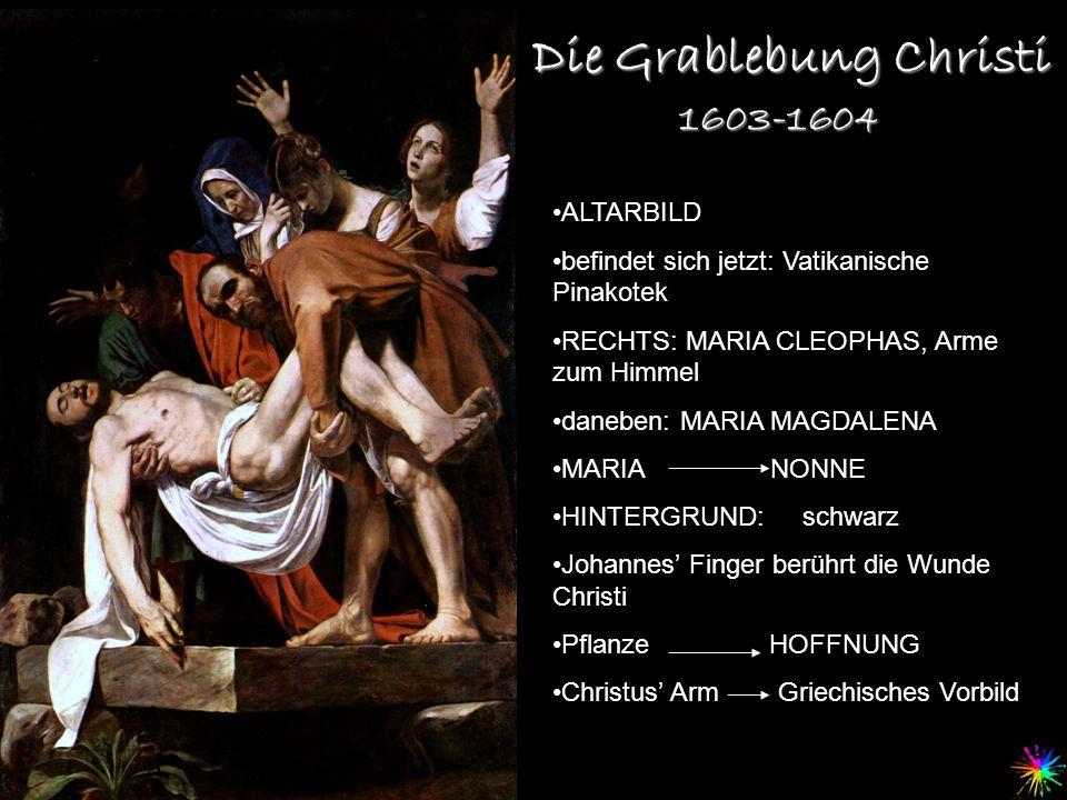 Die Grablebung Christi