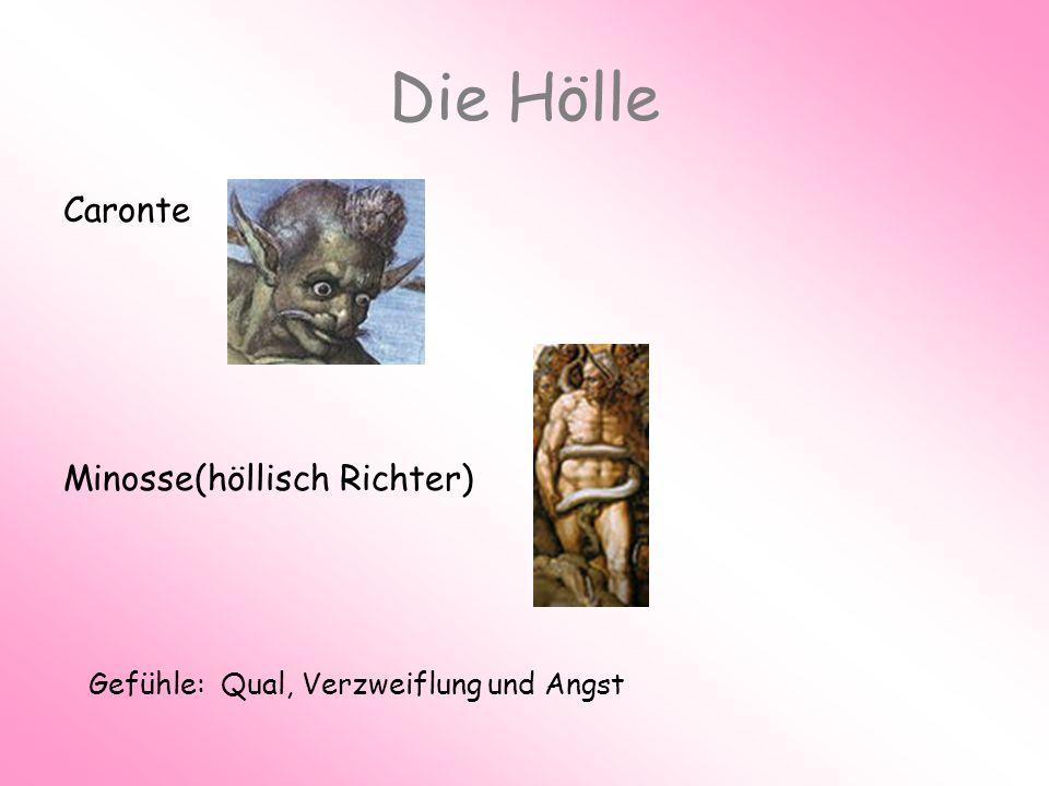Die Hölle Caronte Minosse(höllisch Richter)