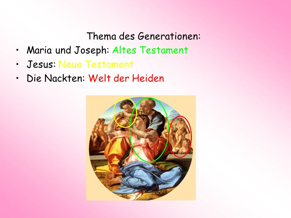 Thema des Generationen: