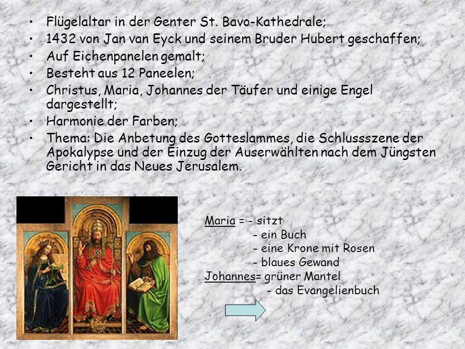 Flügelaltar in der Genter St. Bavo-Kathedrale;