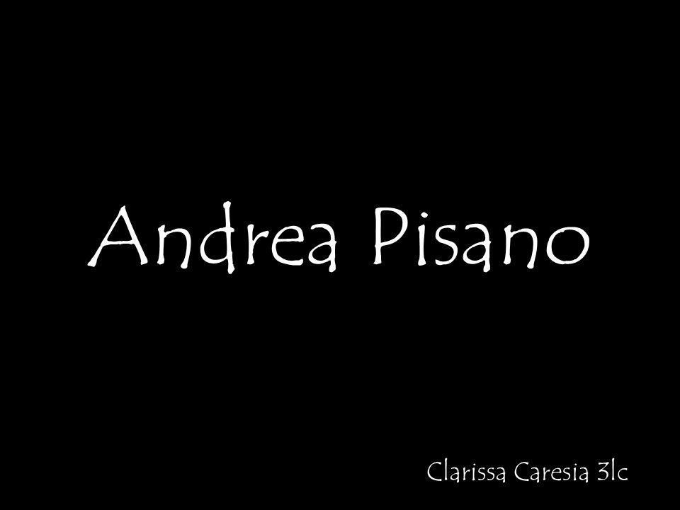 Andrea Pisano Clarissa Caresia 3lc