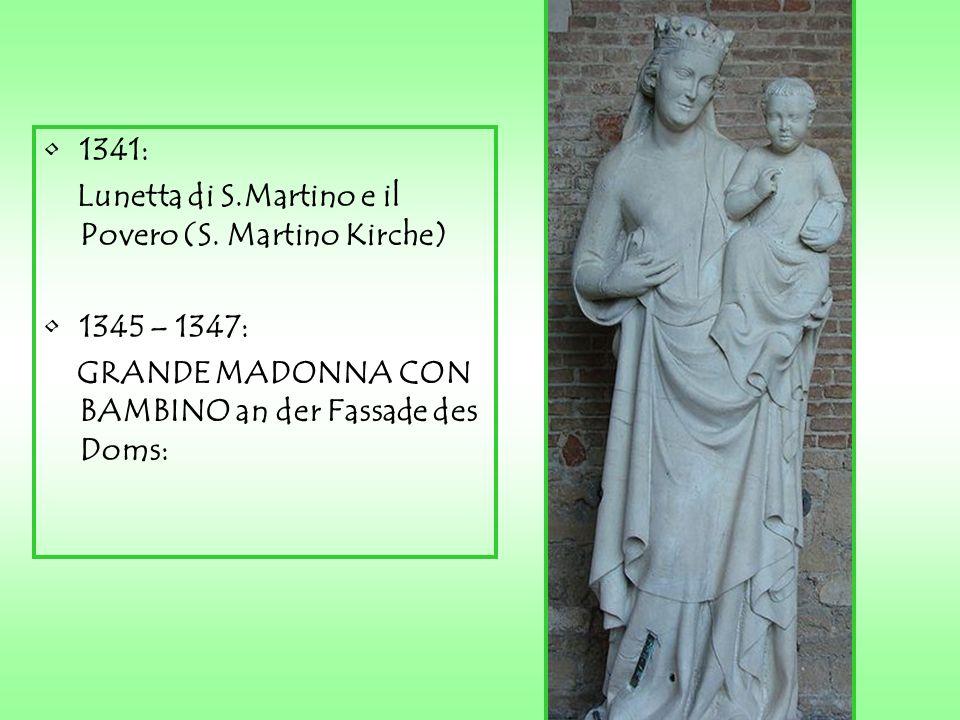1341: Lunetta di S.Martino e il Povero (S.