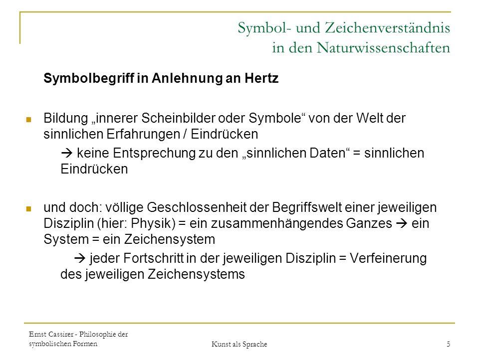 Symbol- und Zeichenverständnis in den Naturwissenschaften