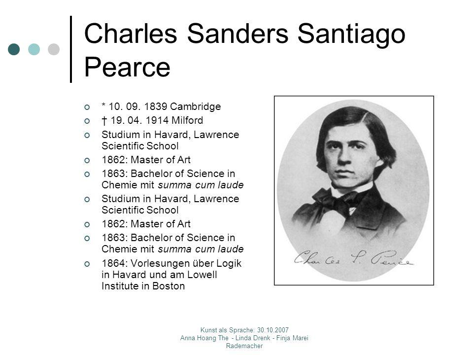 Charles Sanders Santiago Pearce