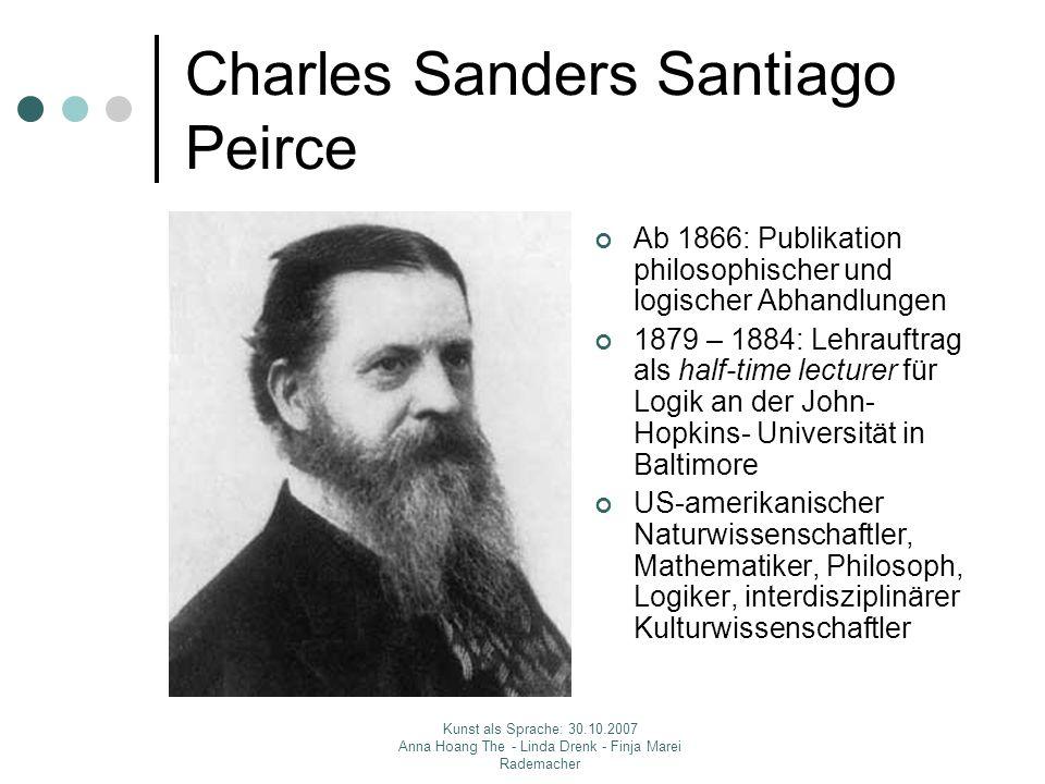 Charles Sanders Santiago Peirce