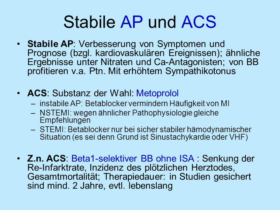 Stabile AP und ACS