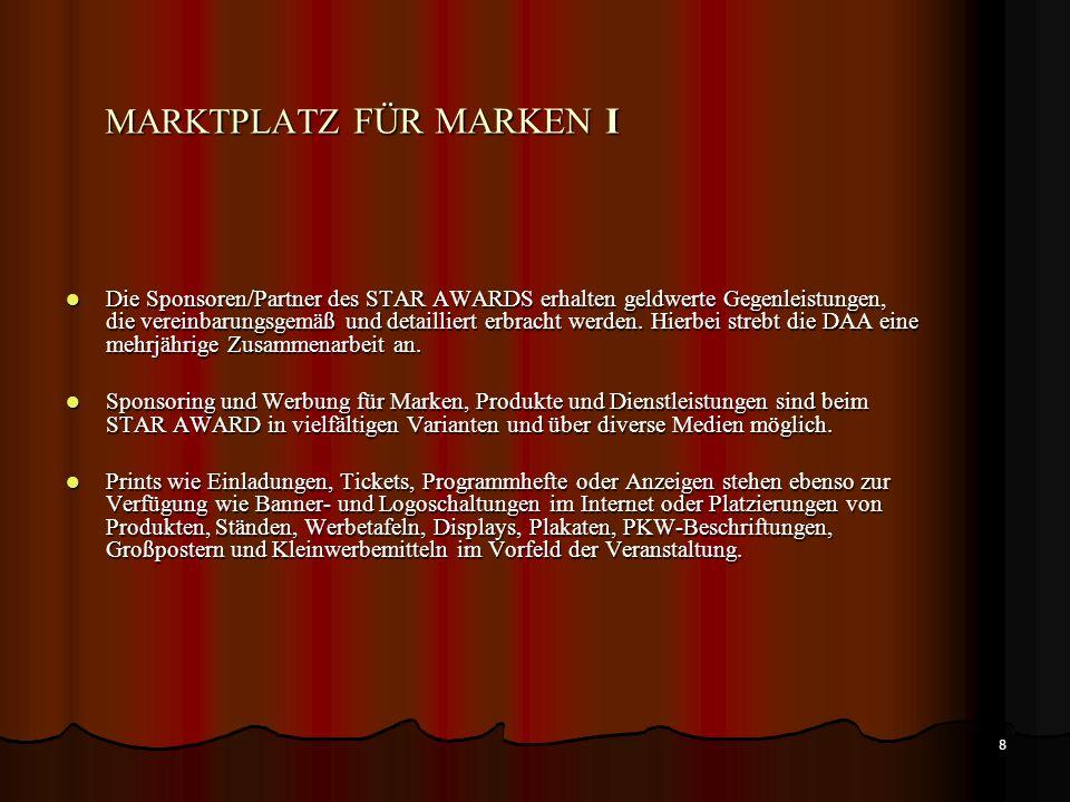 MARKTPLATZ FÜR MARKEN I
