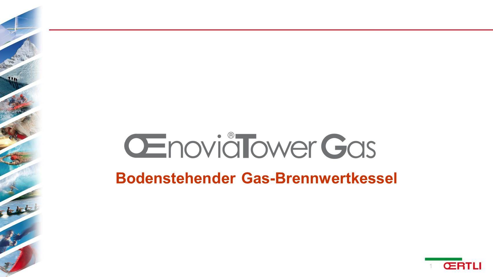Bodenstehender Gas-Brennwertkessel