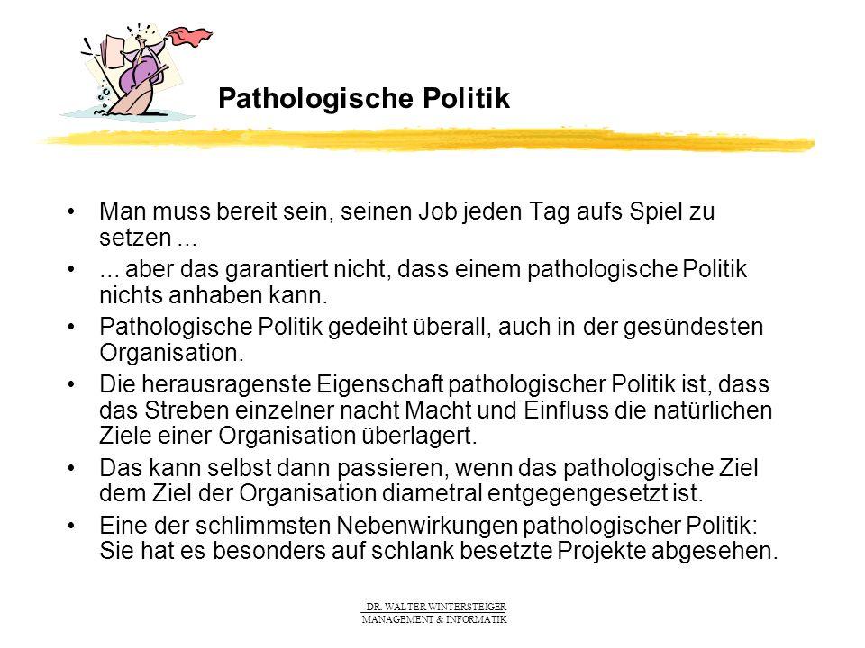 Pathologische Politik