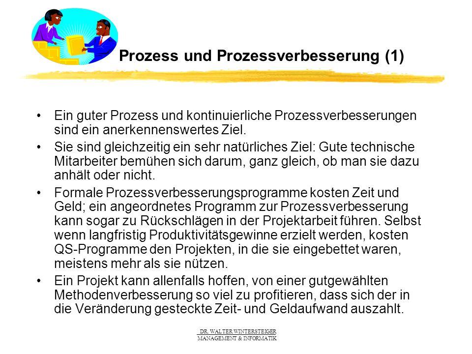 Prozess und Prozessverbesserung (1)