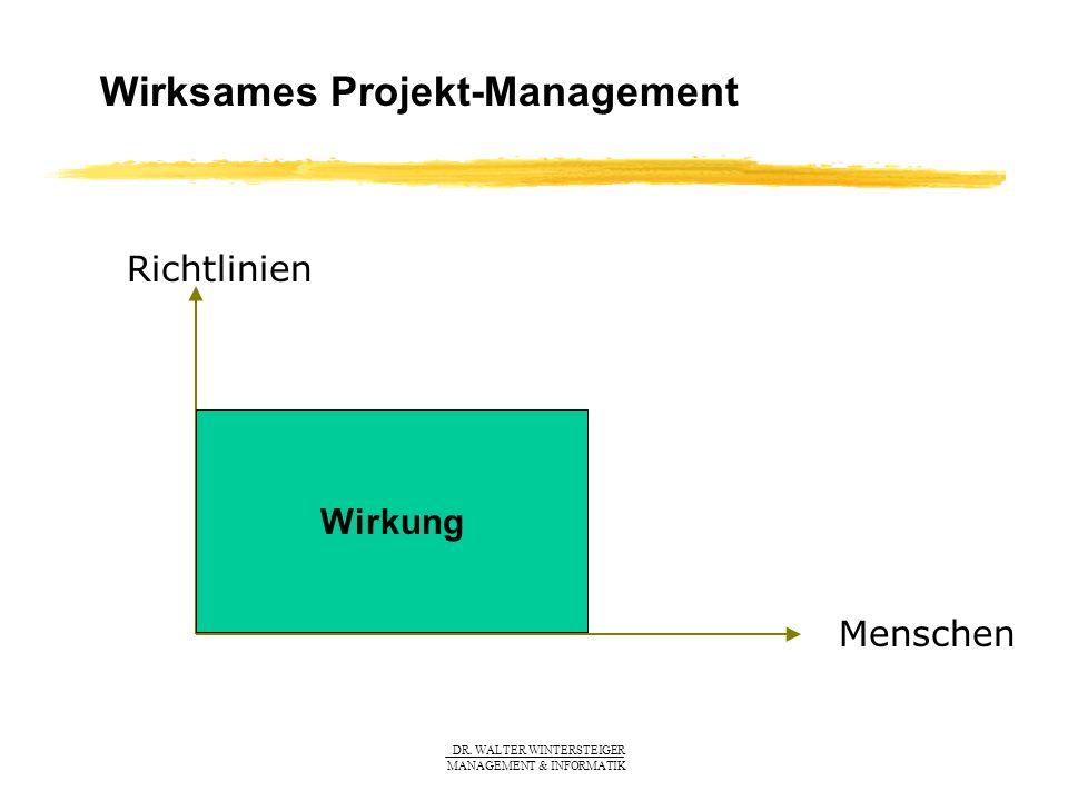 Wirksames Projekt-Management