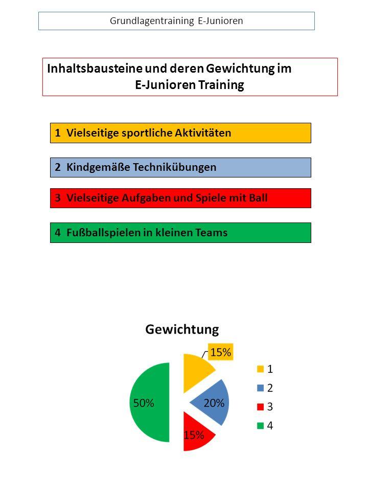 Grundlagentraining E-Junioren
