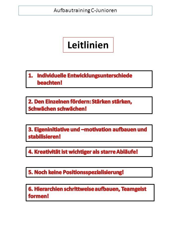Aufbautraining C-Junioren