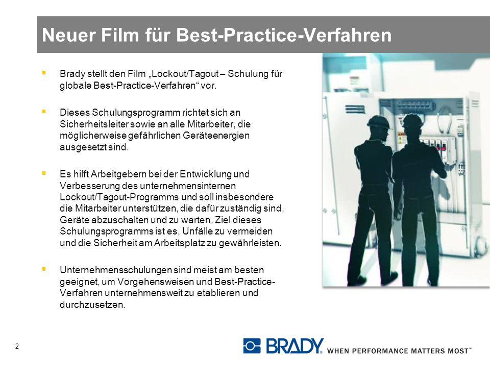 Neuer Film für Best-Practice-Verfahren