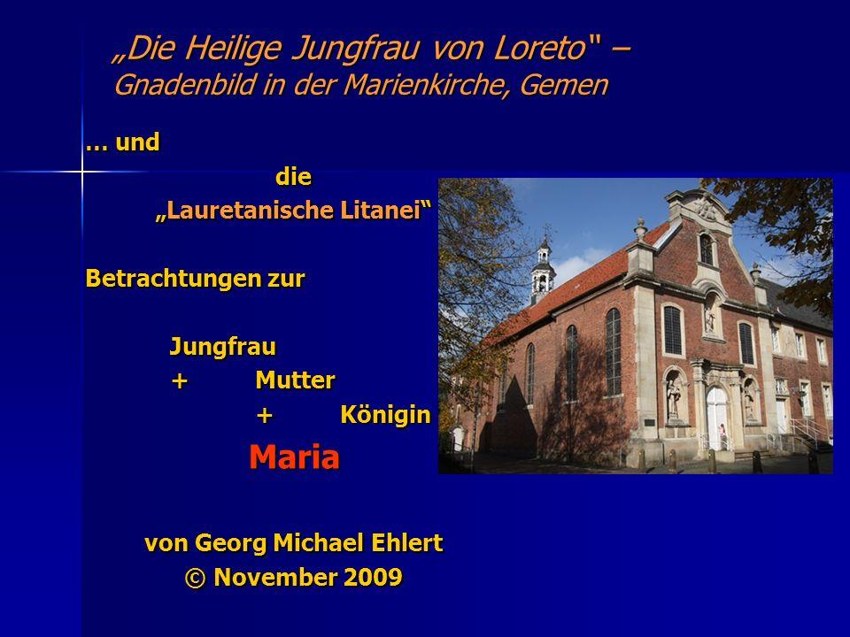 """""""Lauretanische Litanei von Georg Michael Ehlert"""