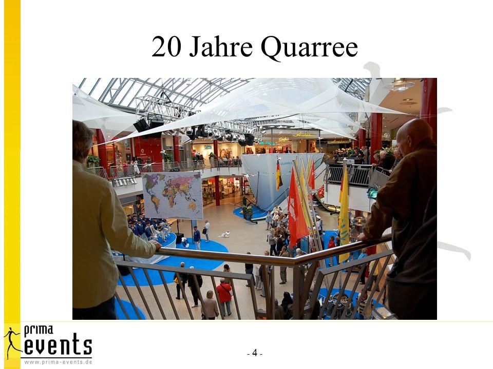 20 Jahre Quarree